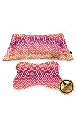 colchonete para cachorro chevron tapete pet rosa cht1003 2