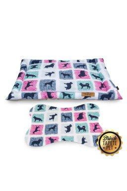 colchonete para cachorro dogs cachorro azul rosa cht1024 2