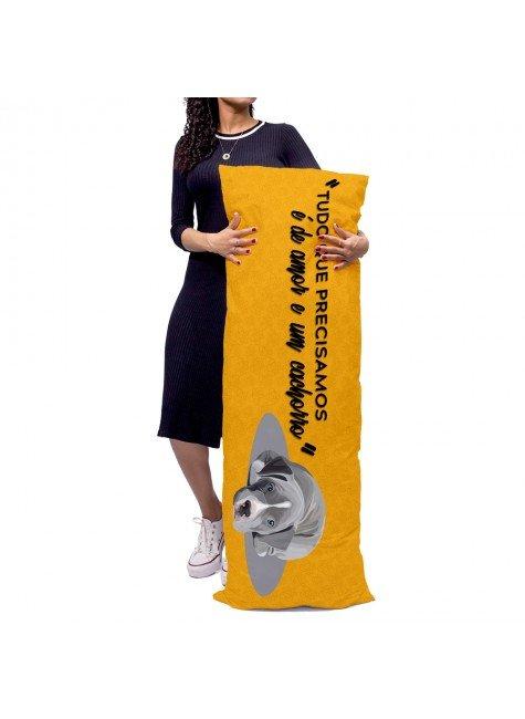 almofada gigante cachorro laranja mdecore alg0080 2