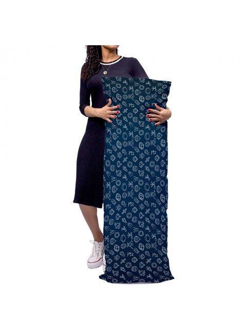 almofada gigante azul infantil astronauta mdecore alg0018 2