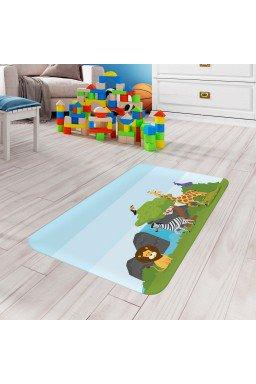 tapete de atividades infantil animais azul claro tpinf0036 2