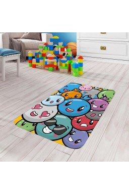 tapete de atividades infantil carinhas colorido tpinf0061 2