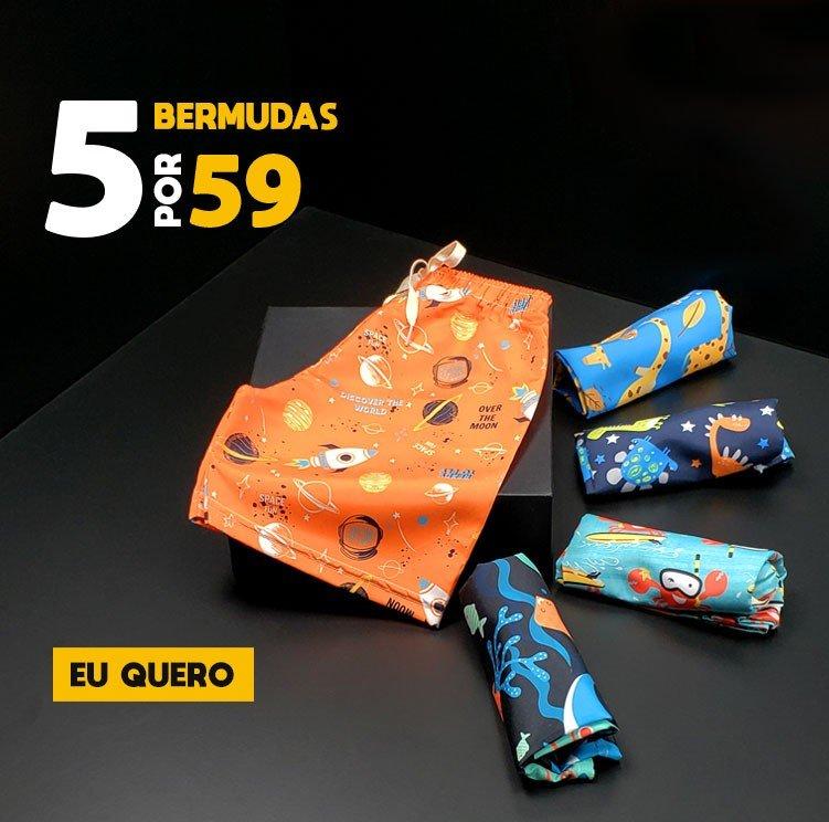 BANNER 5 BERMUDAS POR 59