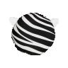 almofada infantil safari zebra 40 x 40 branco saf005 2